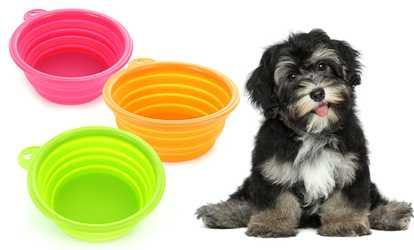 Shop Groupon Portable Dog Bowls (2-Pack) fbf19bcc3