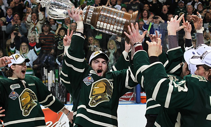 London Knights - Budweiser Gardens: $33.50 for Suite Seating for Two at a London Knights Exhibition Hockey Game at Budweiser Gardens (Half Off)