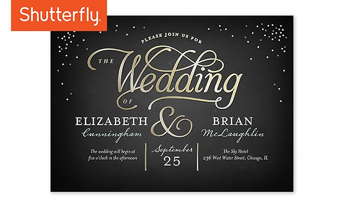 shutterfly wedding invitations from shutterfly up to 52 off - Shutterfly Wedding Invitations