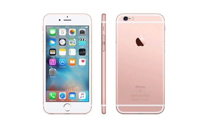 apple iphone 6 ou 6s reconditionn s groupon. Black Bedroom Furniture Sets. Home Design Ideas