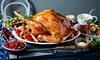 Takeaway Turkey for Four to Six