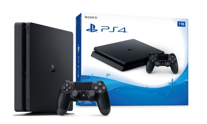 sony ps4 slim 1tb console groupon goods. Black Bedroom Furniture Sets. Home Design Ideas