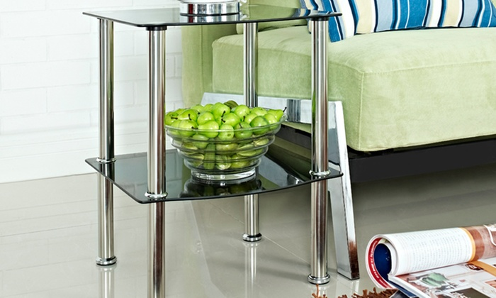 Valencia or Napoli Glass Side Table