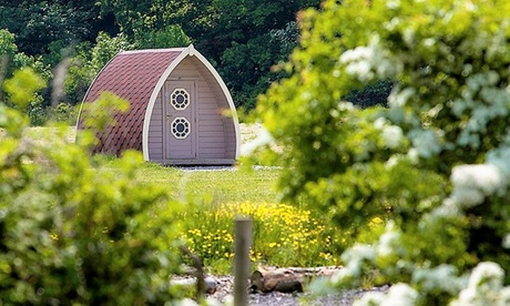 Lancashire: 1- to 7-Night Camping Pod Stay for Two Adults and Two Children at Stanley Villa Farm Camping from Stanley Villa Farm Camping