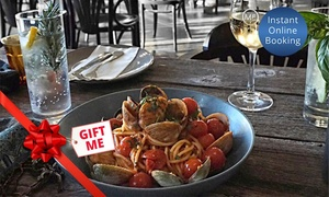 Mediterranean Food Warehouse: Three-Course Italian Dinner for Two ($55) to Ten ($255) at Mediterranean Food Warehouse in Newtown (Up to $472.50 Value)
