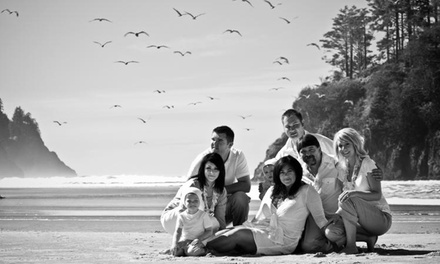 On-Location Photo Shoot for Senior, Couple, or Family with Digital Images from Audacia Pictures (Up to 60% Off)