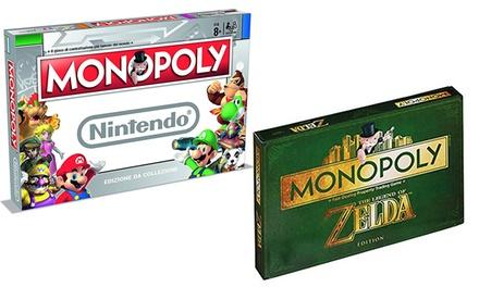 Monopoly Nintendo o The Legend of Zelda con pedine da collezione Hasbro