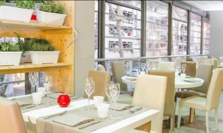 Menu di pesce con calice di vino al Ristorante 029 City, a Ostia (sconto fino a 52%)