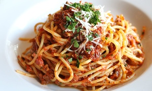 Italian Lunch or Dinner with Wine at Di Frabo Ristorante Italiano (Up to 45% Off). Four Options Available.
