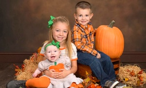 JCPenney Portraits: Photo Shoot with Three-Image Digital Album and Print or Canvas Print at JCPenney Portraits (Up to 81% Off)