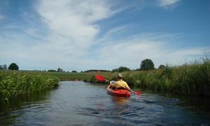 Spływy Luki: Spływ kajakowy wybraną trasą dla 2 osób za 39,99 zł i więcej opcji z firmą Spływy Luki (do -48%)