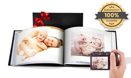 Printerpix : Des albums photo personnalisables avec couverture en cuir disponibles en formats A5 ou A4 de 20, 40, 60 ou 100 pages