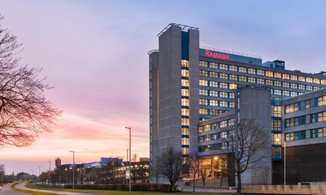 East Kilbride: Double or Twin Room for Two with Breakfast and Optional Three-Course Dinner at 4* Ramada By Wyndham from Ramada By Wyndham East Kilbride