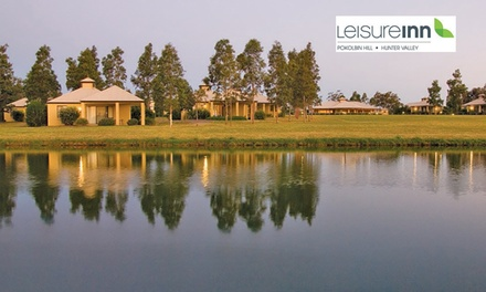 Hunter Valley: 2Night Getaway for Two People with Cheese Tasting and Late CheckOut at Leisure Inn Pokolbin Hill
