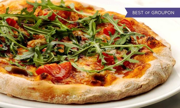 Bakłażan Pizzeria & Restauracja - Kraków: 2 dowolne pizze o średnicy 30 cm od 33,99 zł i więcej opcji w Bakłażan Pizzeria & Restauracja (do -44%)