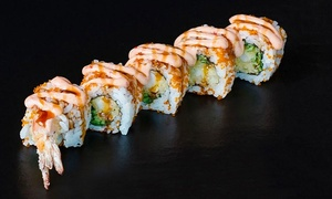 Sushi Samurai: All-You-Can-Eat Sushi, Sashimi and Maki Rolls for One, Two or Four at Sushi Samurai (Up to 64% Off)