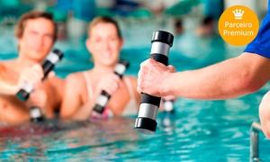 Academia Corpo e Ritmo: Academia Corpo e Ritmo – Barreiro: 1, 2 ou 3 meses de musculação, natação, hidroginástica e circuito funcional