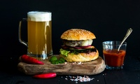 Burger with Chips and Beer for Up to Four at 2k Steak House (Up to 39% Off)