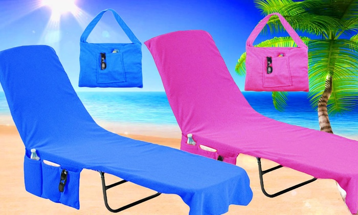 My Shop Your Shop: 2 In 1 Beach Lounge Chair Cover And Tote ...