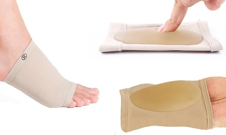 Gel Foot Arch Support Sleeves for £3.98 (69% Off)