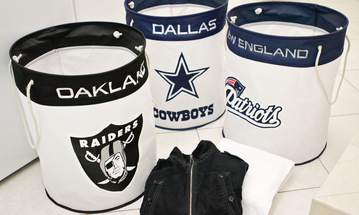 NFL Canvas Laundry Bags