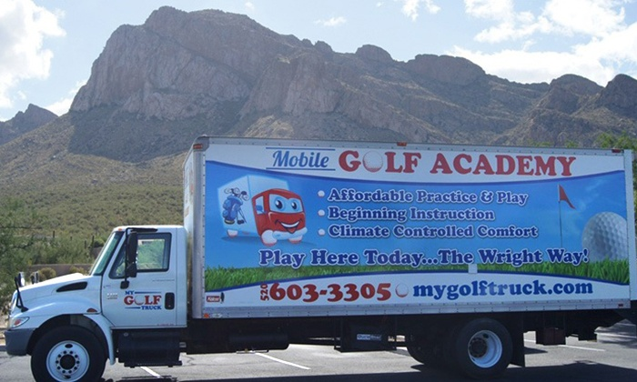 My Golf Truck - Oro Valley: One or Three 90-Minute Private Golf Lessons with Unlimited Online Swing Analysis My Golf Truck  (Up to 60% Off)