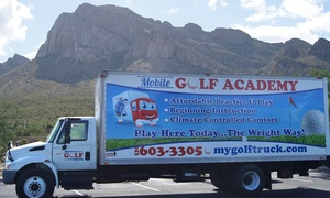 My Golf Truck: One or Three 90-Minute Private Golf Lessons with Unlimited Online Swing Analysis My Golf Truck  (Up to 51% Off)