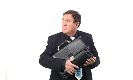 יהורם גאון בקומדיה האקטואלית והמצחיקה אדוני שר האוצר, רק ב-69 ₪ לכרטיס. תיאטרון ירושלים, אולם שרובר
