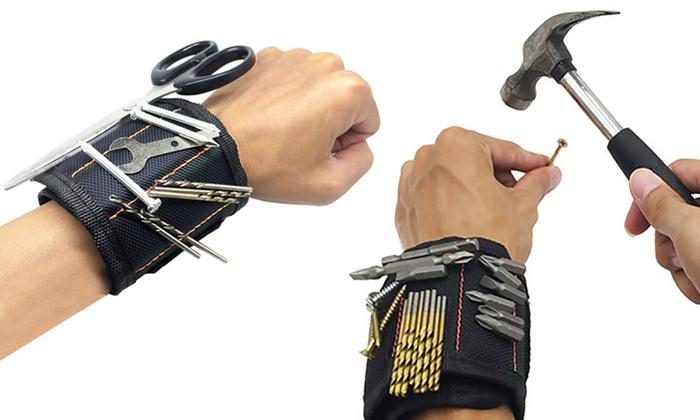 Braccialetto magnetico per attrezzi