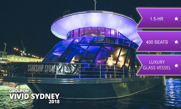 Sydney harbour dinner cruise groupon