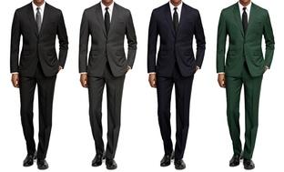 Braveman Slim-Fit Mens Suits
