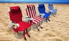 Technical Pro Full-Size Rechargeable Bluetooth Beach Chair