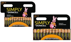 Piles Duracell Simply