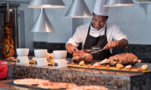 The Kempinski Palm Jumeirah: Friday Brunch with Drinks and Optional Pool Access for One or Two at The Kempinski Palm Jumeirah (Up to 35% Off)