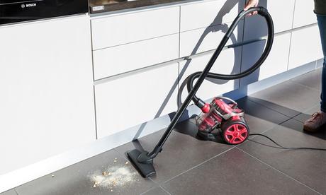 Aspirador sin bolsa Q7 para limpiar parques, suelos duros, alfombras o moquetas