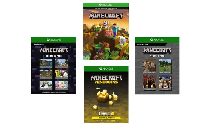 Up To 25 Off On Minecraft With Add Ons Groupon Goods