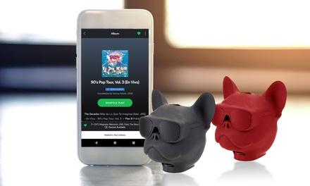 Altavoz Bluetooth con diseño Bulldog francés