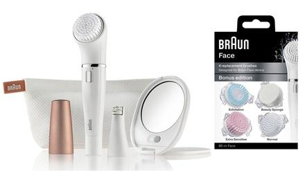 Braun Face 840 Beauty Edition voor op reis met 4 vervangende borstels