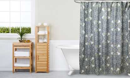 Image Placeholder For Canvas Shower Curtains In Multiple Prints
