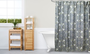 Canvas Shower Curtains in Multiple Prints