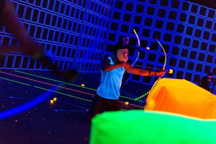 Three Games of Archery Tag for Four, Six, or Ten at Revo Entertainment Center (Up to 53% Off)