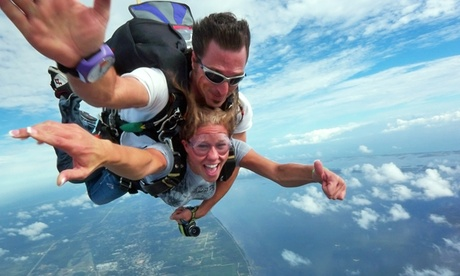 Tandem Skydiving at Orlando Skydiving Center (Up to 60% Off). Two Options Available.