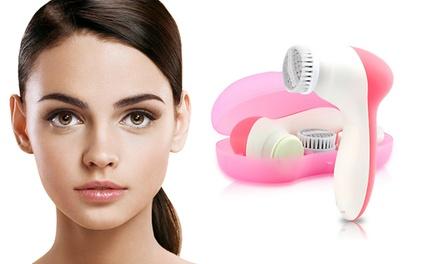 Multifunctionele 4in1 reinigingsborstel voor het gezicht