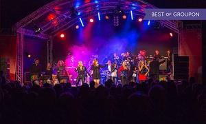"""Rock Orchester Ruhrgebeat: 1 Ticket für das Konzert """"Rock Orchester Ruhrgebeat"""" am Sa, 19.08.2017 im Amphitheater Gelsenkirchen (38% sparen)"""