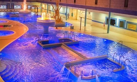 Spa de noche con copa de cava para 2 personas por 29,99 € en Aqua Club Termal