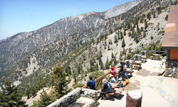 Mt. Baldy - Mount Baldy-Wrightwood: Scenic Lift Ride and Lookout Lunch for Two or Four at Mt. Baldy (Up to 54% Off)