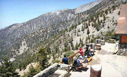 Scenic Lift Ride and Lookout Lunch for 2 (a $60 value) - Mt. Baldy in Mt. Baldy