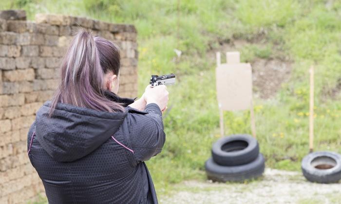 Joe Foss Public Shooting Range - Buckeye: $41 for a 10-Visit Punch Card at Joe Foss Public Shooting Range ($70 Value)
