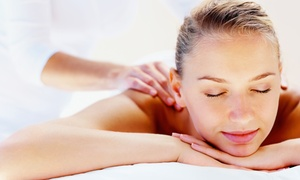 The Bannard Center: 60-Minute Massage, 30-Minute Acupuncture Session, or Package of Both at The Bannard Center (Up to 68% Off)