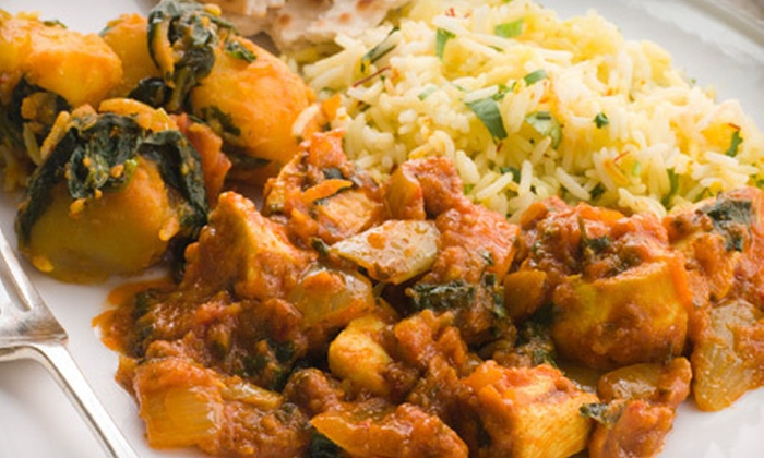 Great India Restaurant and Banquet - Burlington: Indian Buffet for Two or Four at Great India Restaurant and Banquet (58% Off)